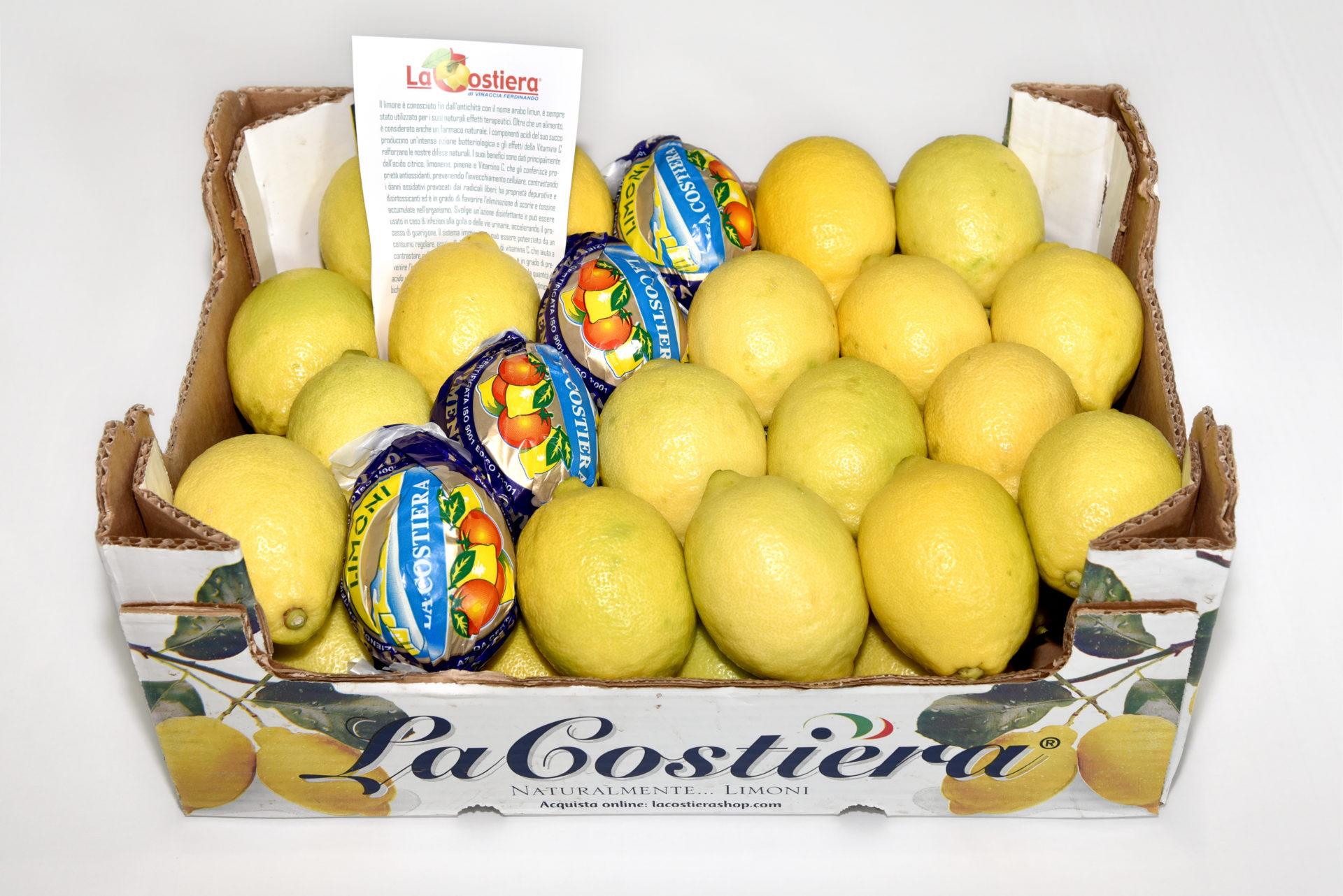 Limone Primo Fiore affilato calibro 3 categoria 1° 6.5Kg
