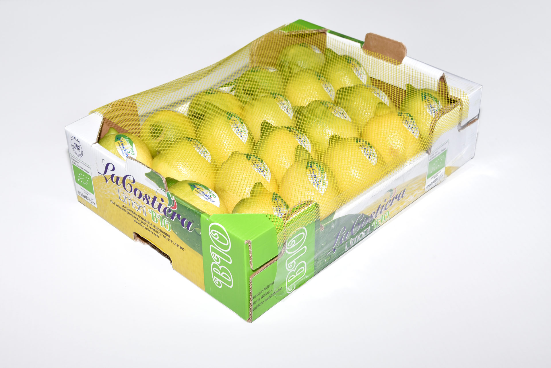 Lemon BIO caliber 3 Category 2  4Kg