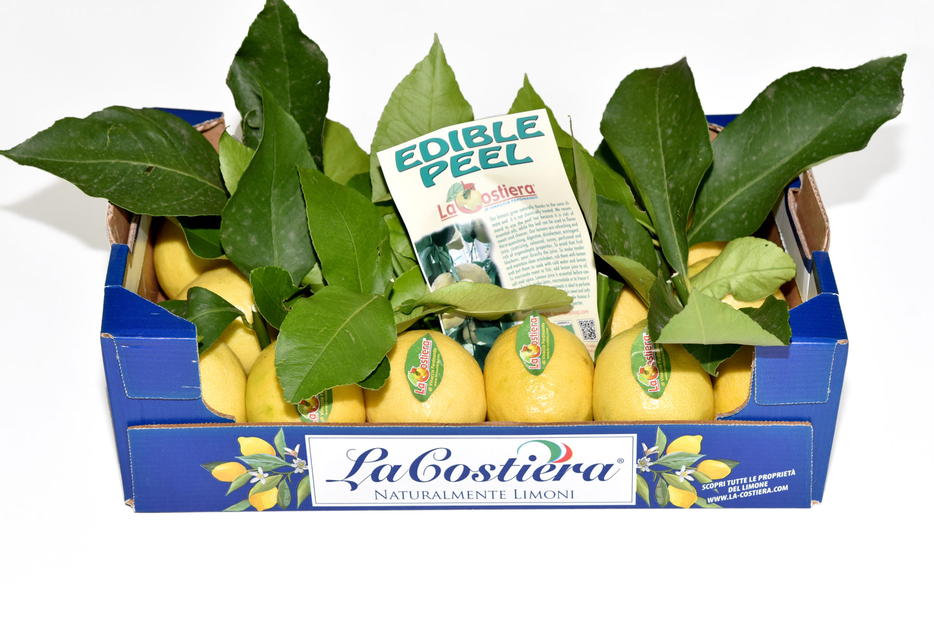 Lemon Primo Fiore with leaf caliber 3 category 1 3Kg