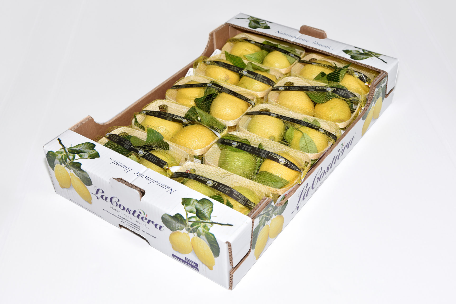 Lemon Primo Fiore leaf caliber 3 category 1 5Kg