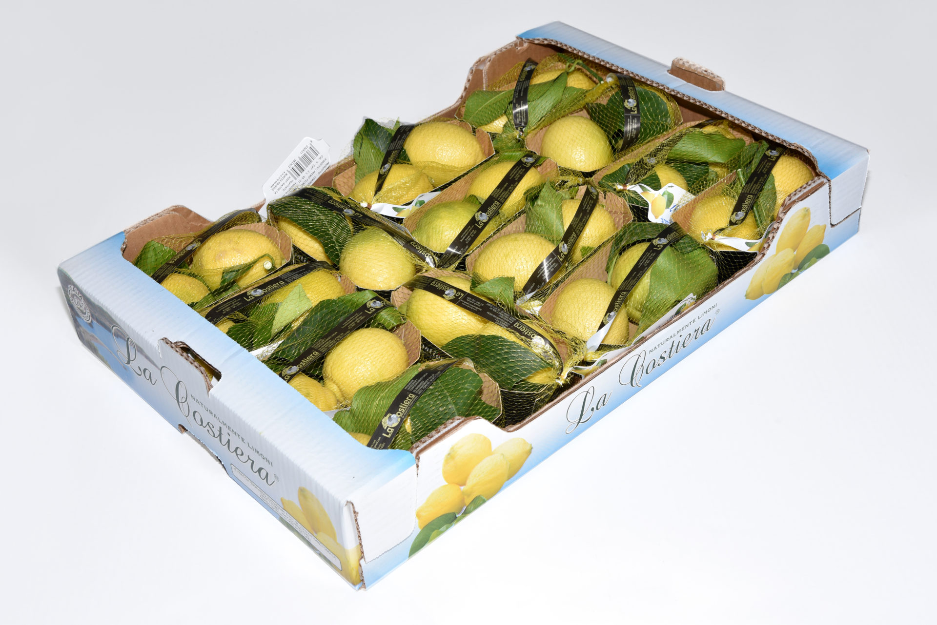 Lemon Primo Fiore leaf caliber 4 Category 1 4.2Kg