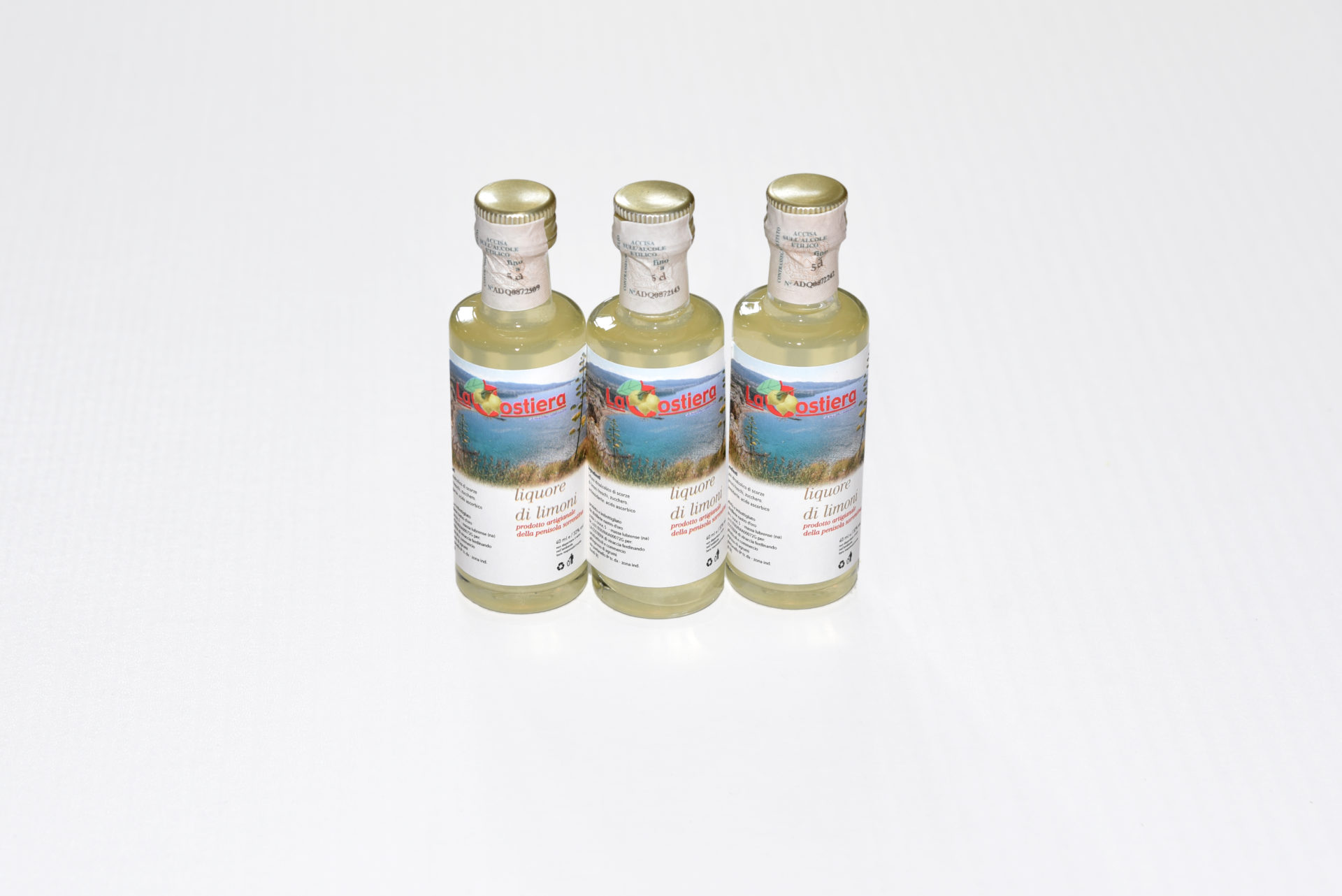 Lemon Liqueur (Limoncello) in 0.4L bottles